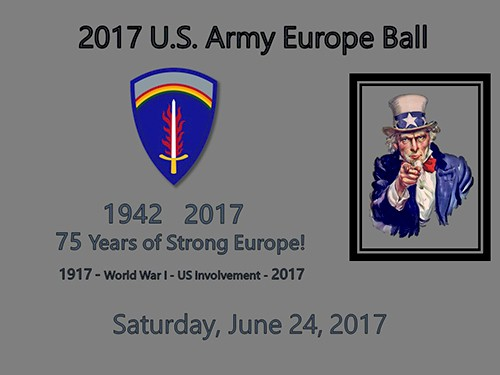 US Army Europe Birthday Ball