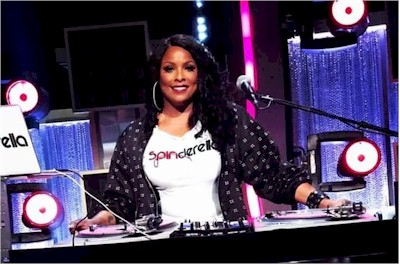 DJ Spinderella from Salt-N-Pepa