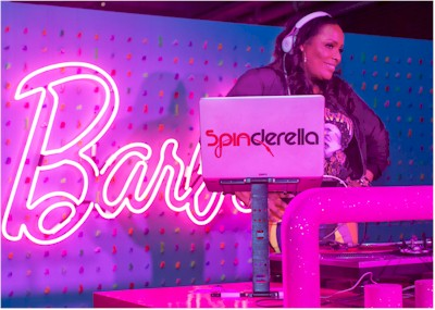 Spinderella at Barbie Anniversary