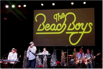 The Beach Boys Live on stage